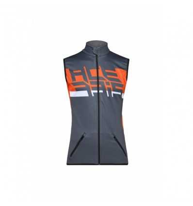 CHALECO ACERBIS SOFTSHELL GRIS/NARANJA