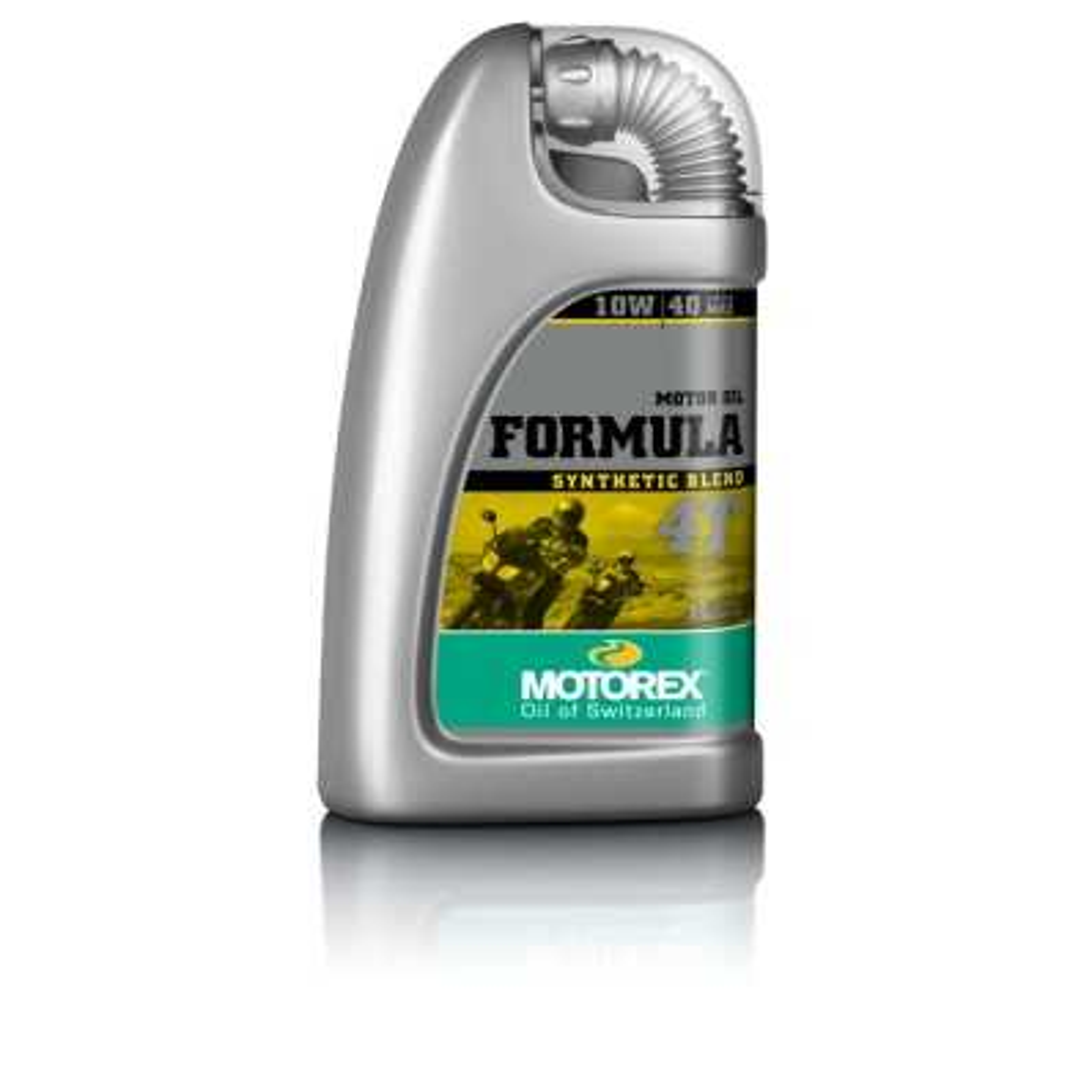MT055H004T - Motorex Formula 4 Tiempos 10W40 Semi-Sintetico 1 Litro