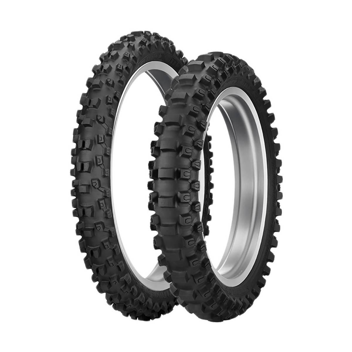 D6010012-MX33 - Neumático Dunlop 60 100-12 Geomax Mx33 F