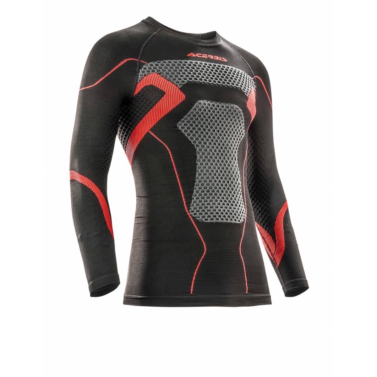 0021912-323 - Camiseta X-Body Winter Acerbis Negro Rojo