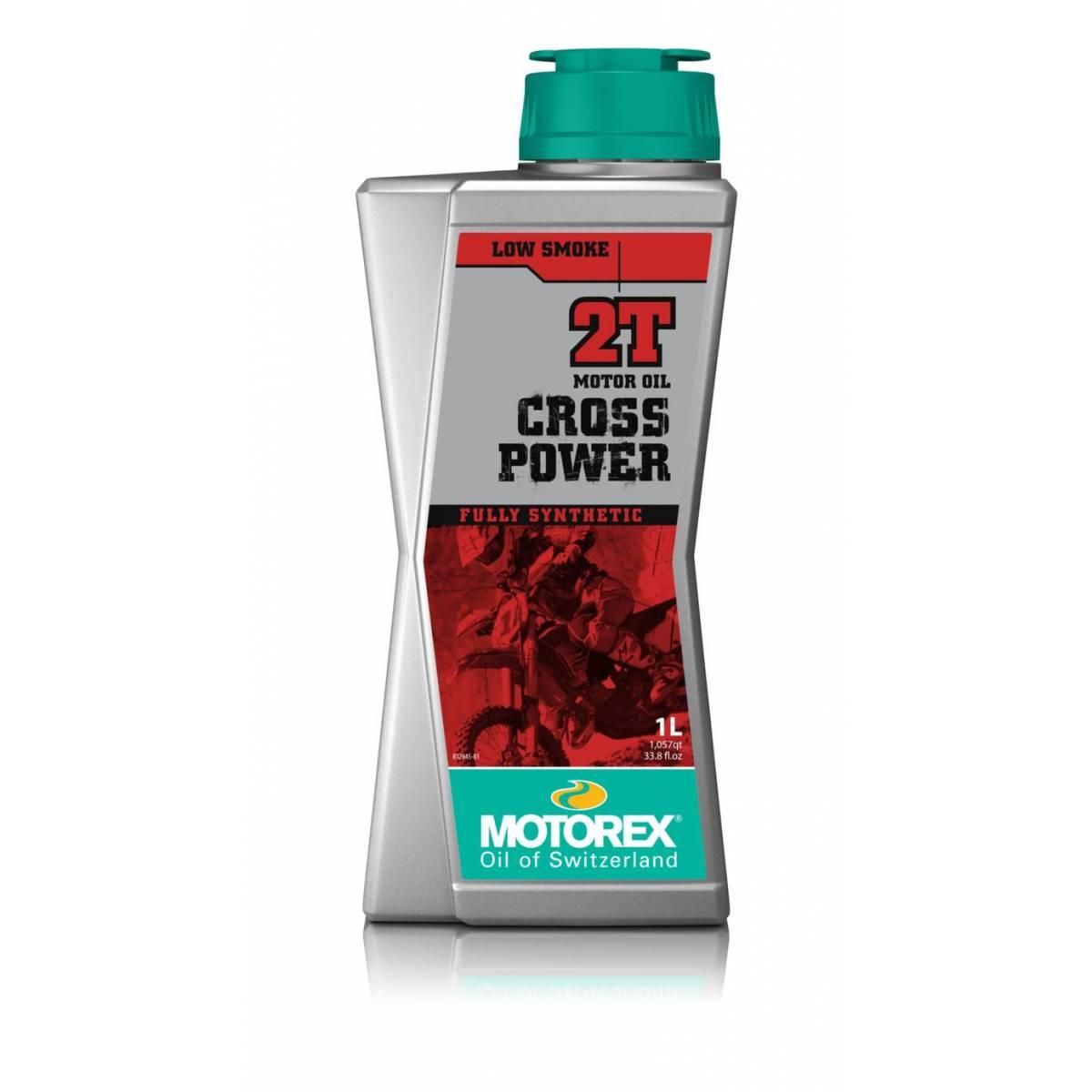 MT003H002T - Motorex Cros-Power Mezcla 2 Tiempos 1L