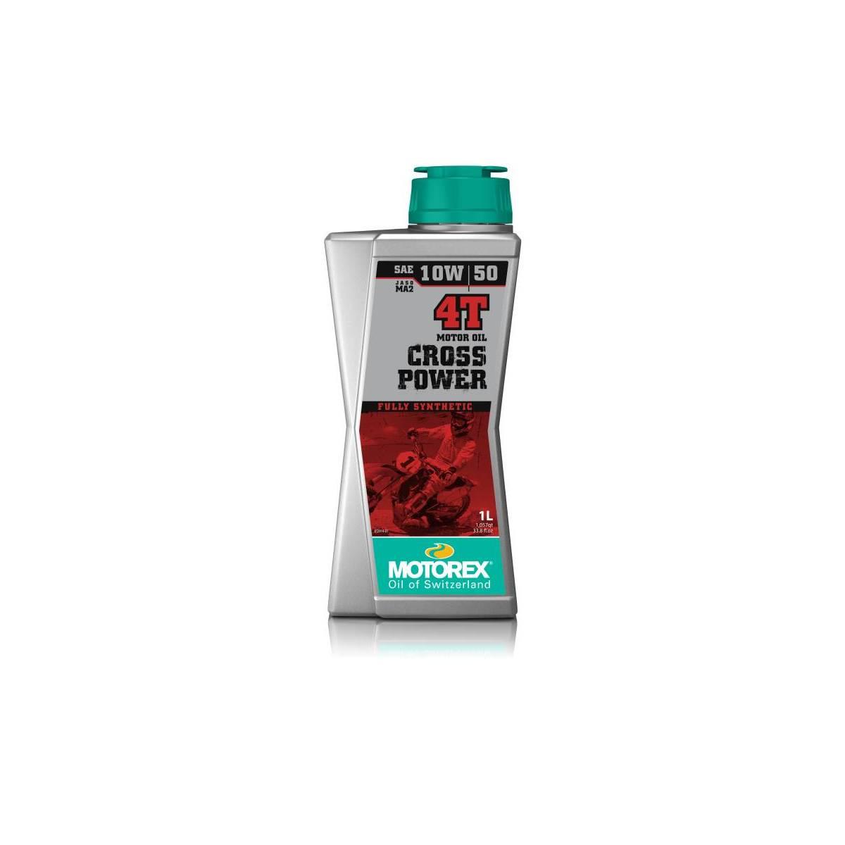 MT064H004T - Motorex Cros Power 4T 10W50 1 Litro