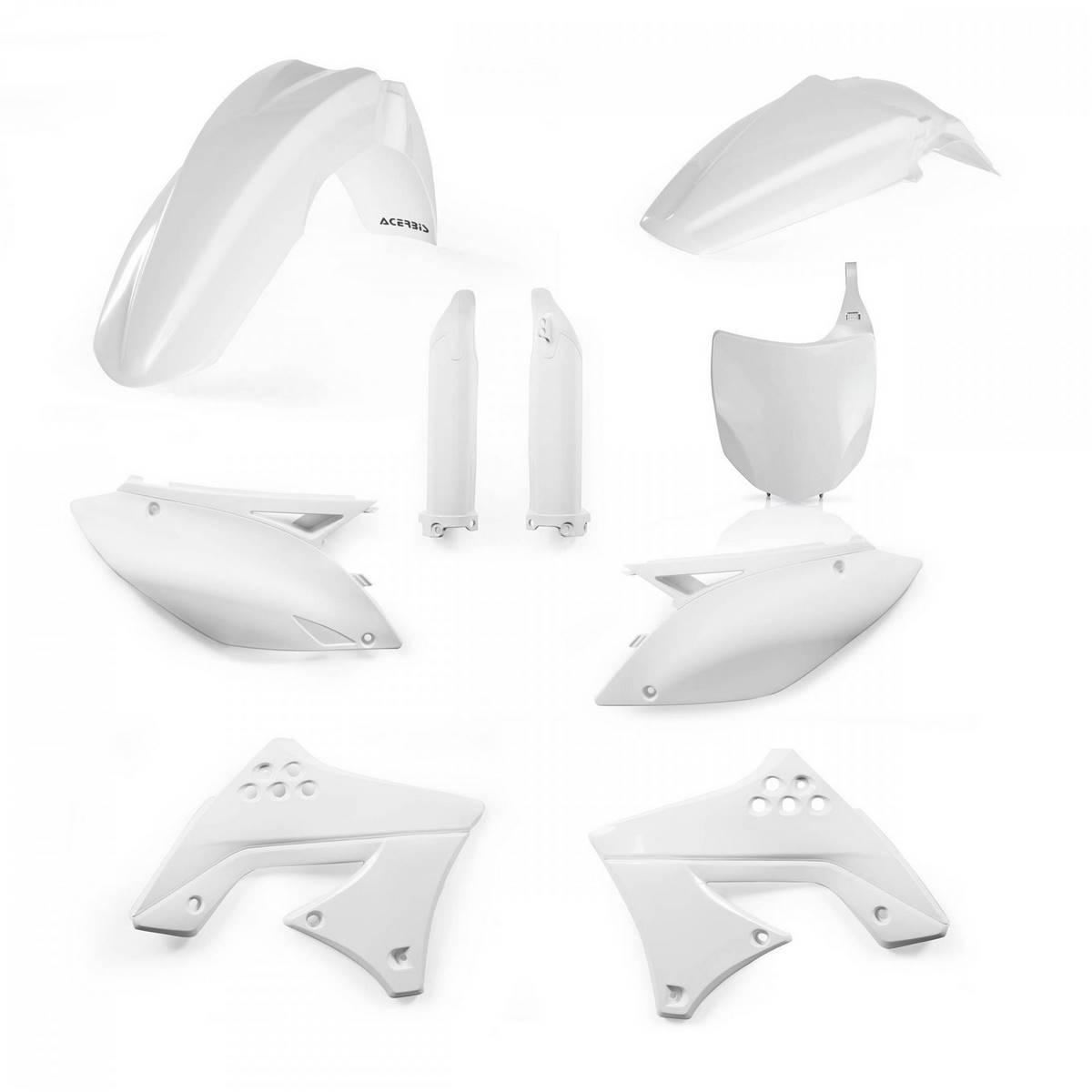 0013978-030 - Full Kit Plasticos Kxf 250 09 12 Blanco