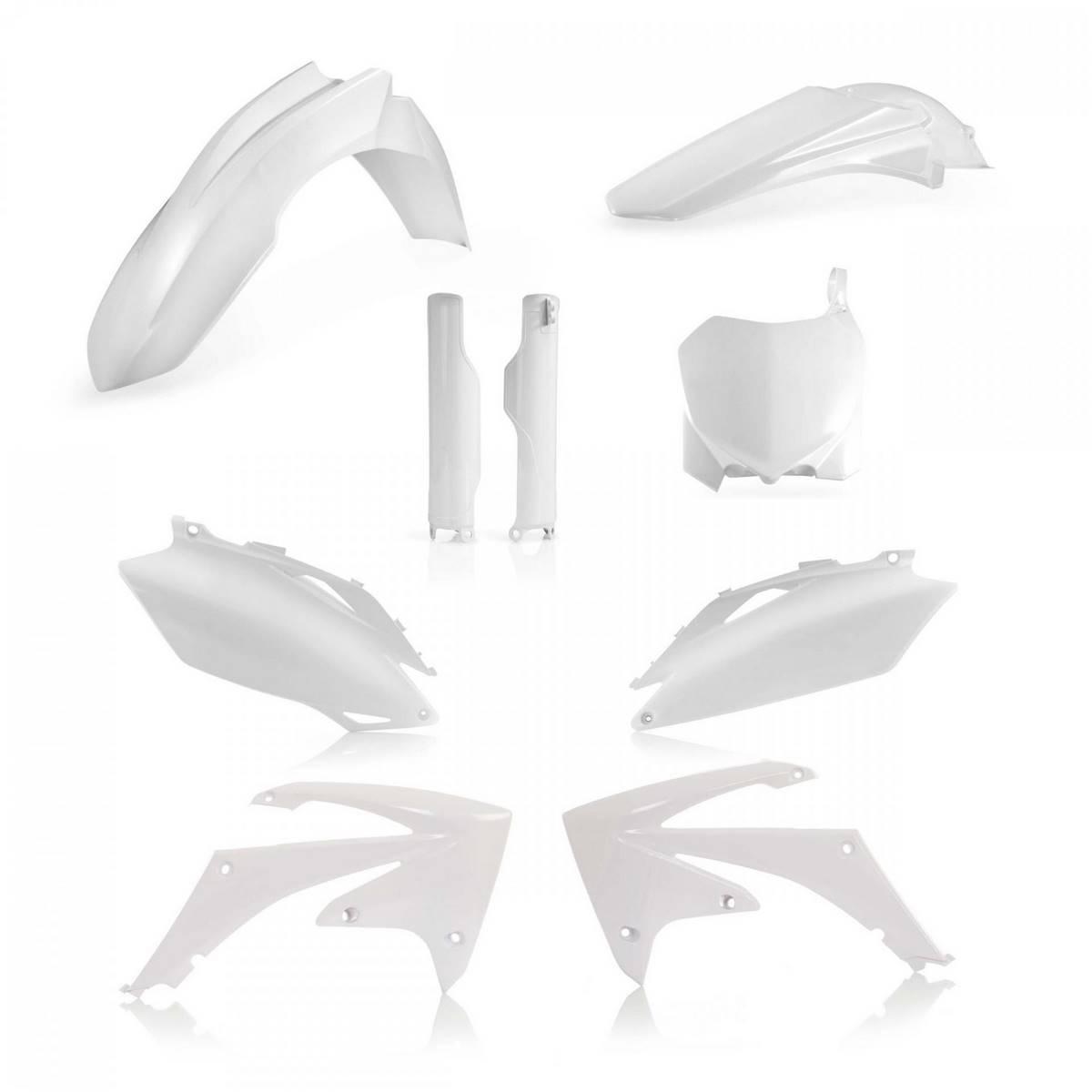 0013979-030 - Full Kit Plasticos Acerbis Crf250 10 Crf 450 09 10 Blanco
