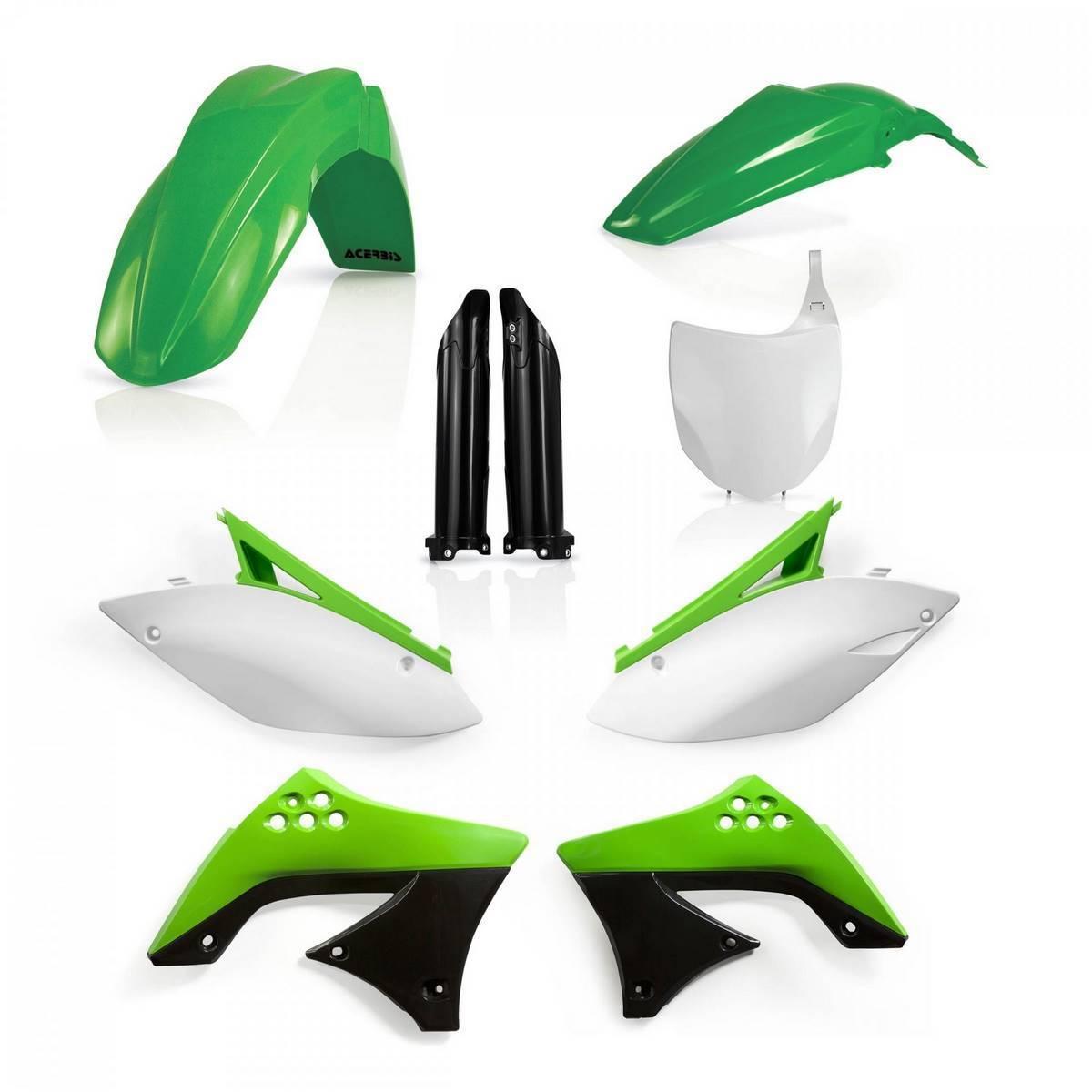 0013981-553 - Full Kit Plasticos Kxf 450 09 11 Origen
