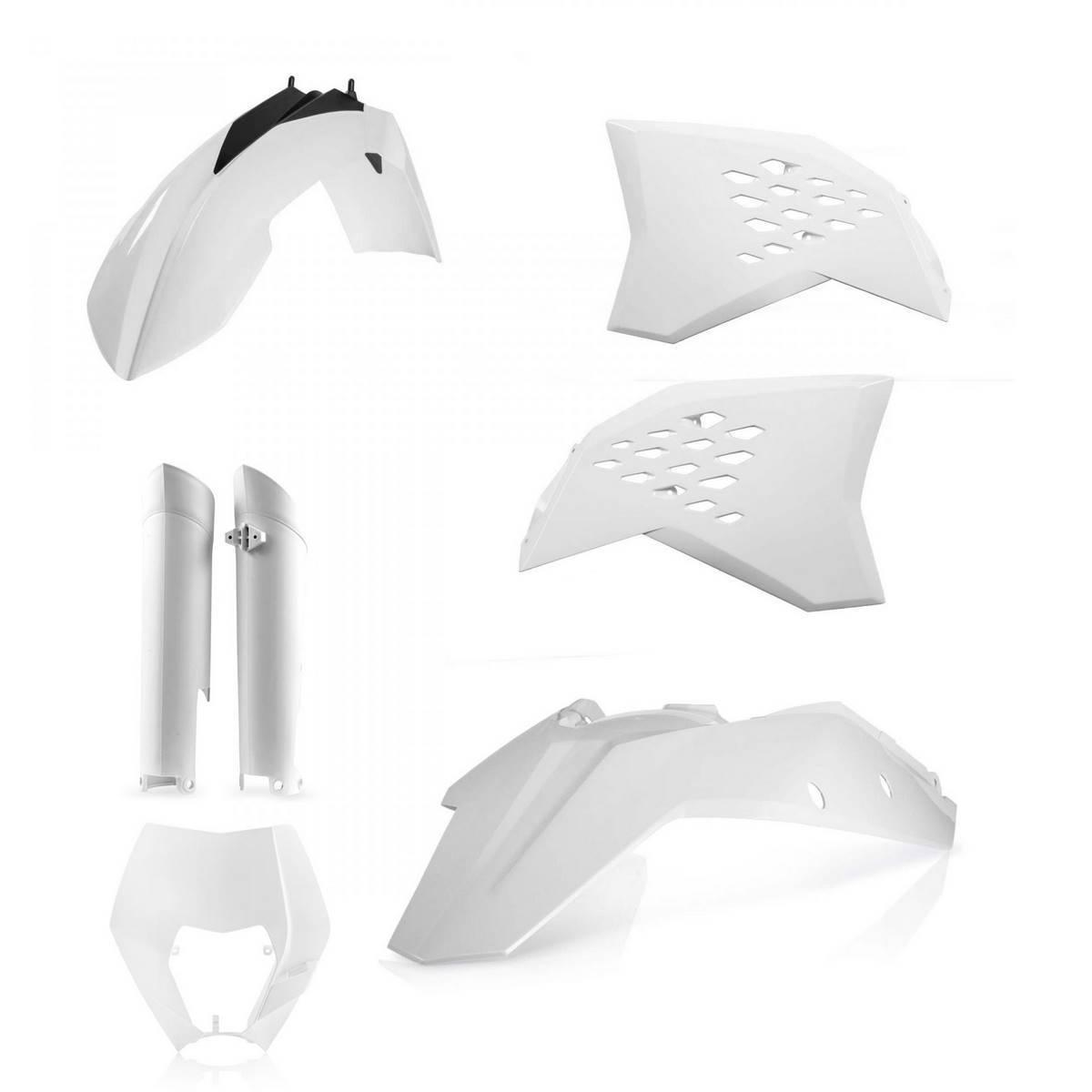 0014219-030 - Full Kit Plasticos Exc Excf 08 11 Blanco