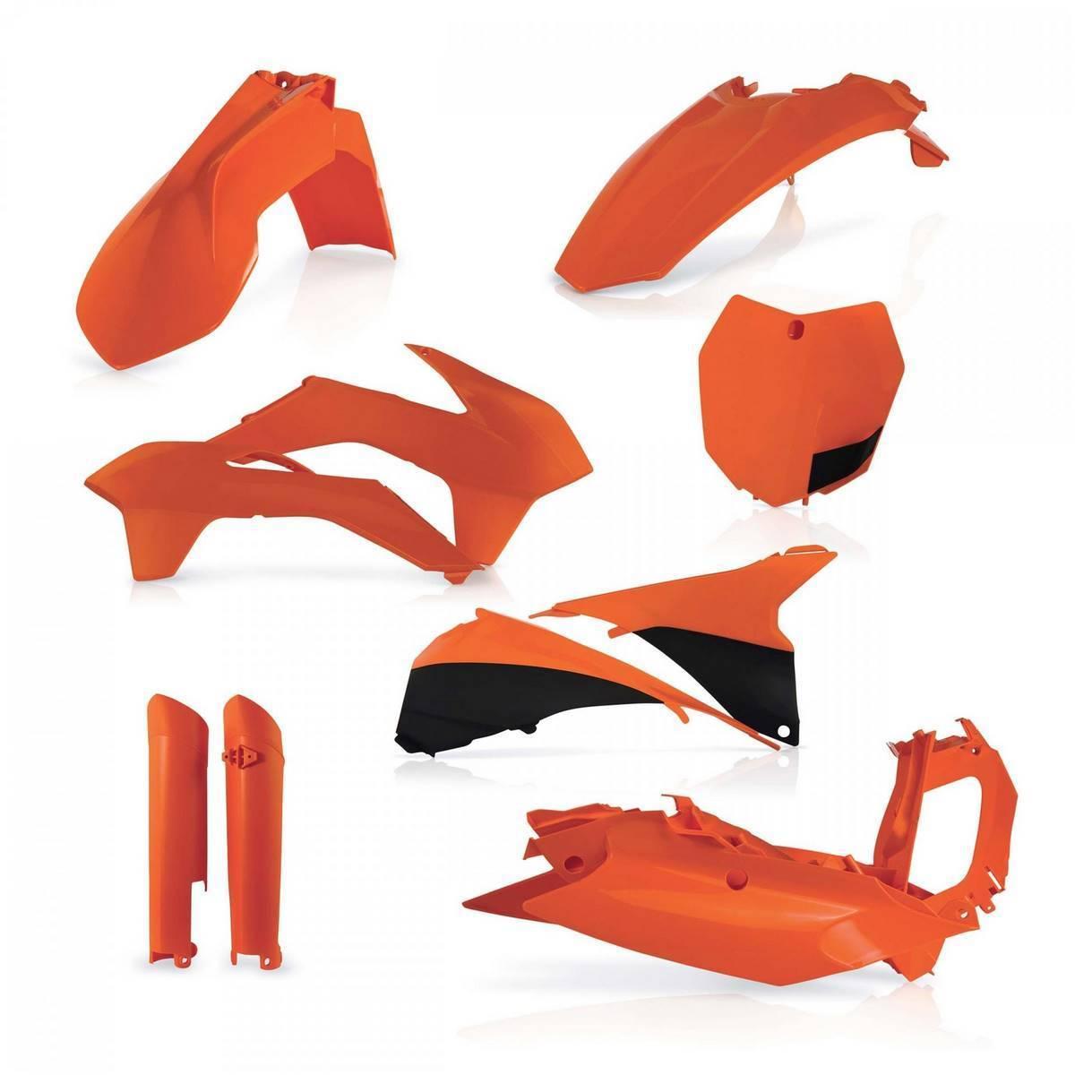 0016874-090 - Full Kit Plasticos Sxf 13 14 Negro