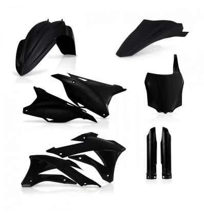 0017247-090 - Full Kit Plasticos Kx 85 Kx 100 14 18 Negro