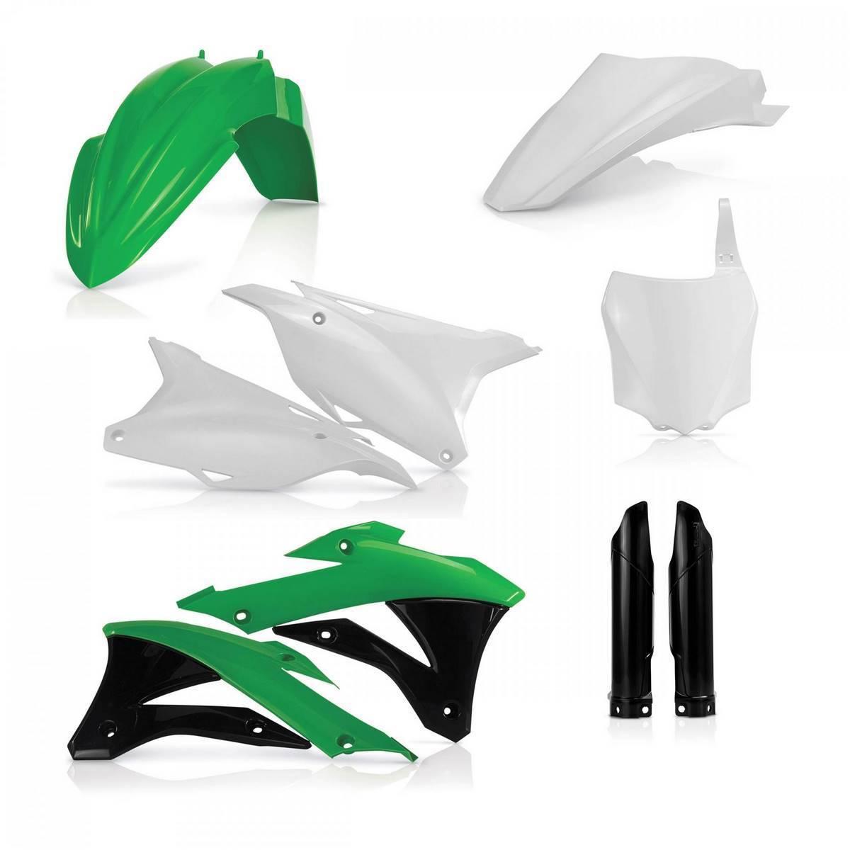 0017247-553 - Full Kit Plasticos Kx 85 Kx 100 14 18 Origen