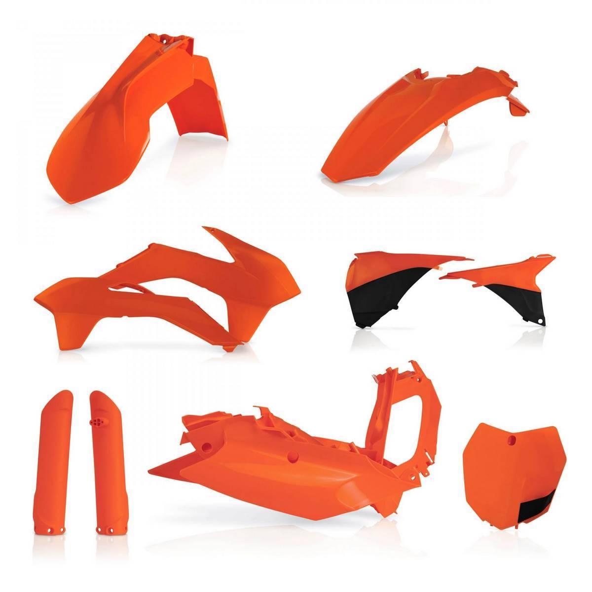 0017843-010 - Full Kit Plasticos Sxf 15 Negro