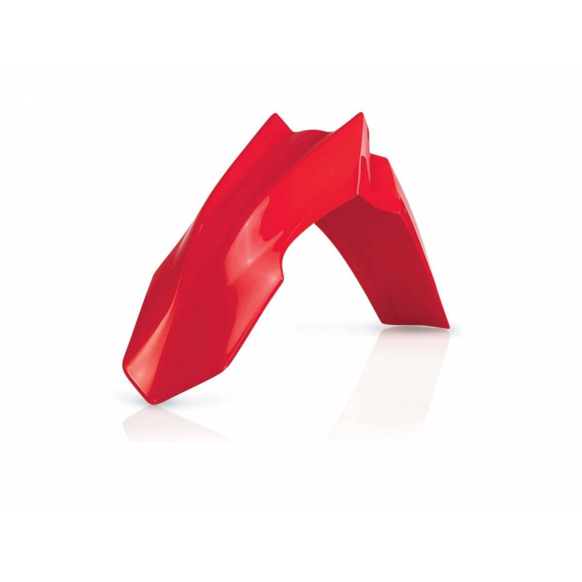 0016887-110 - Guardabarros Delantero Acerbis Honda Crf 250R 14 17 Crf450 R 13 16 Rojo