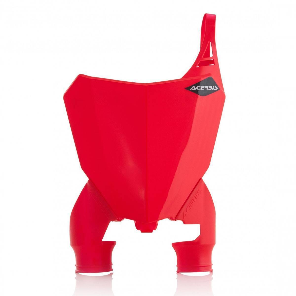 0022391-343 - Portanumero Delantero Raptor Crf250 18. 450 17 18 Rojo Blanco