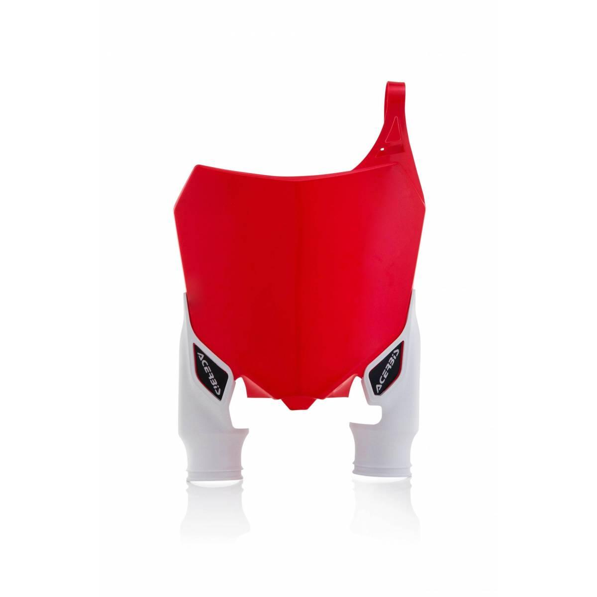 0022142-343 - Portanumero Delantero Raptor Crf250 14 17 450 13 16 Rojo Blanco