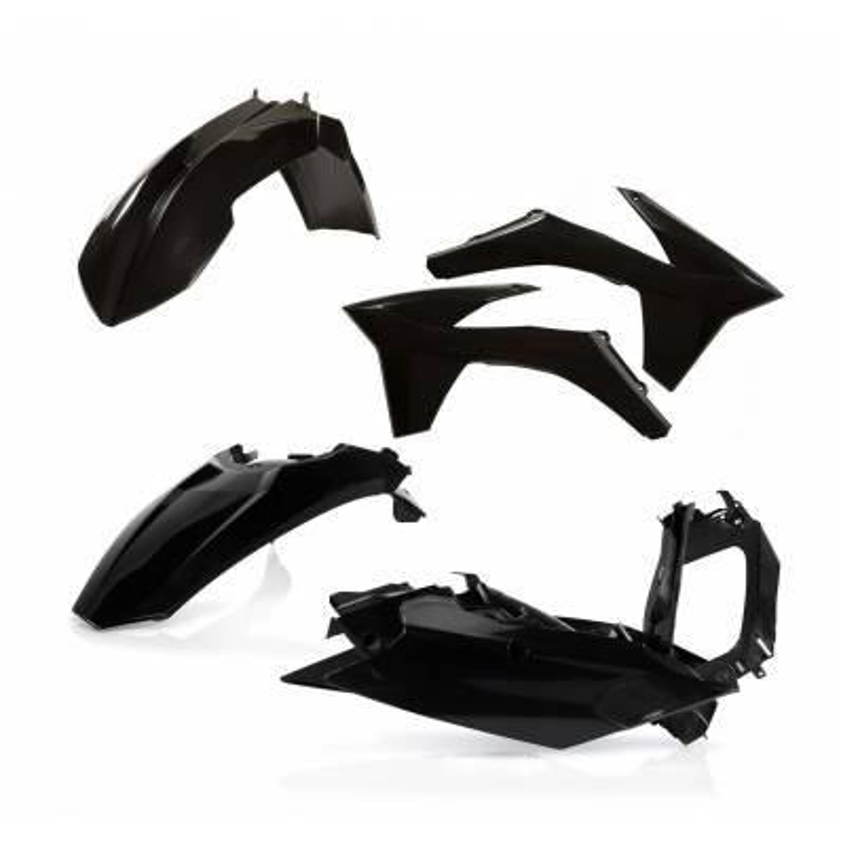 0015705-090 - Kit Plasticos Sx 125 11 12 Negro