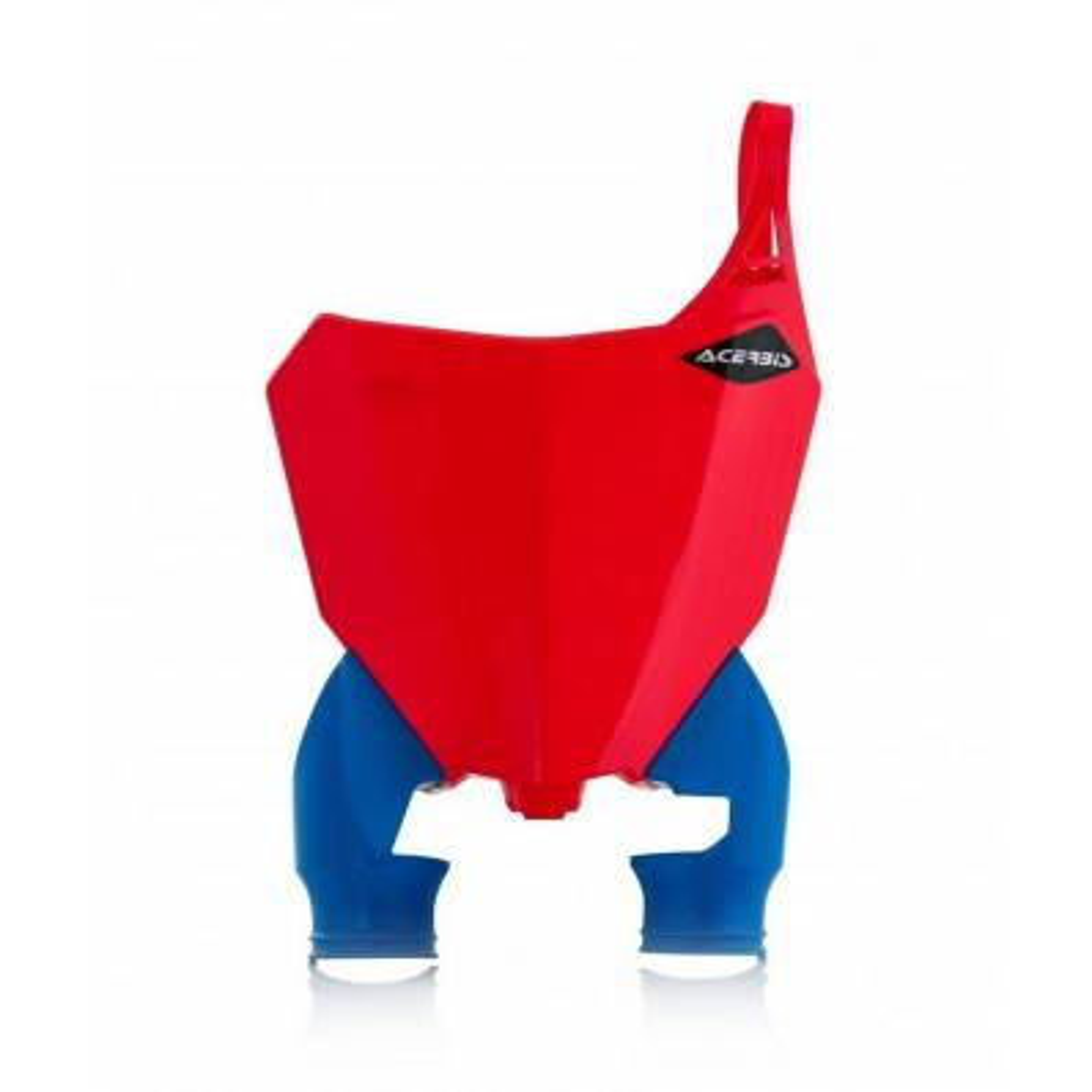 0022391-344 - Portanumero Delantero Raptor Crf250 18. 450 17 18 Rojo Azul