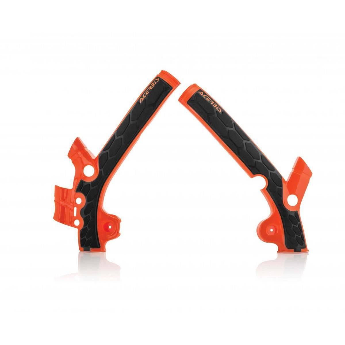 0021869-011 - Cubrechasis Acerbis Ktm Sx85 13 17 Naranja Negro