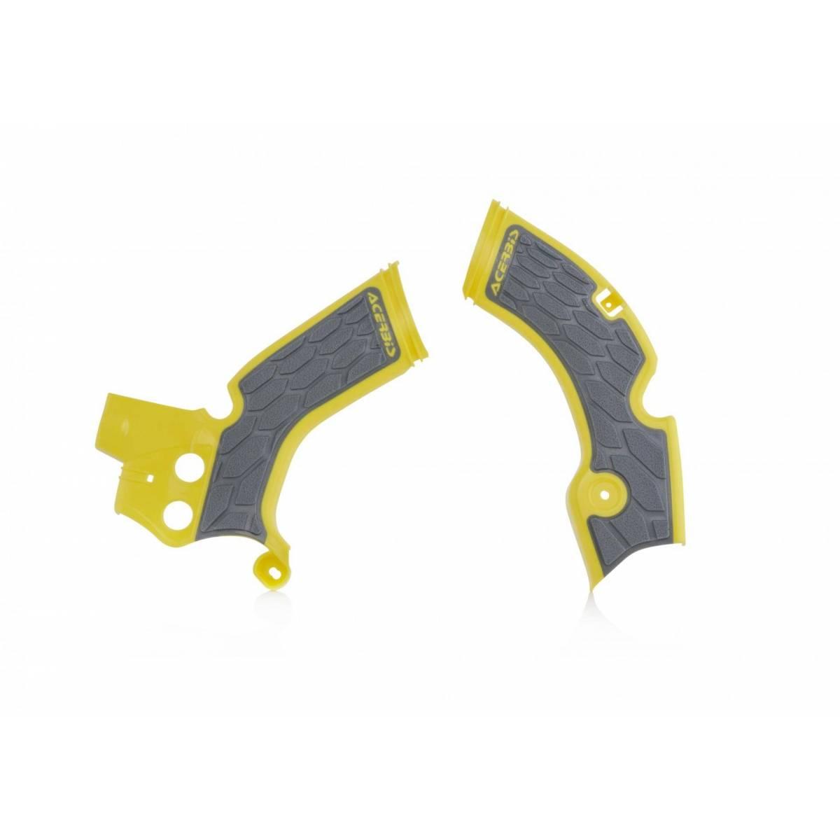 0022879-277 - Cubre Chasis Acerbis Rmz 250 15 17 Negro Amarillo Fluor