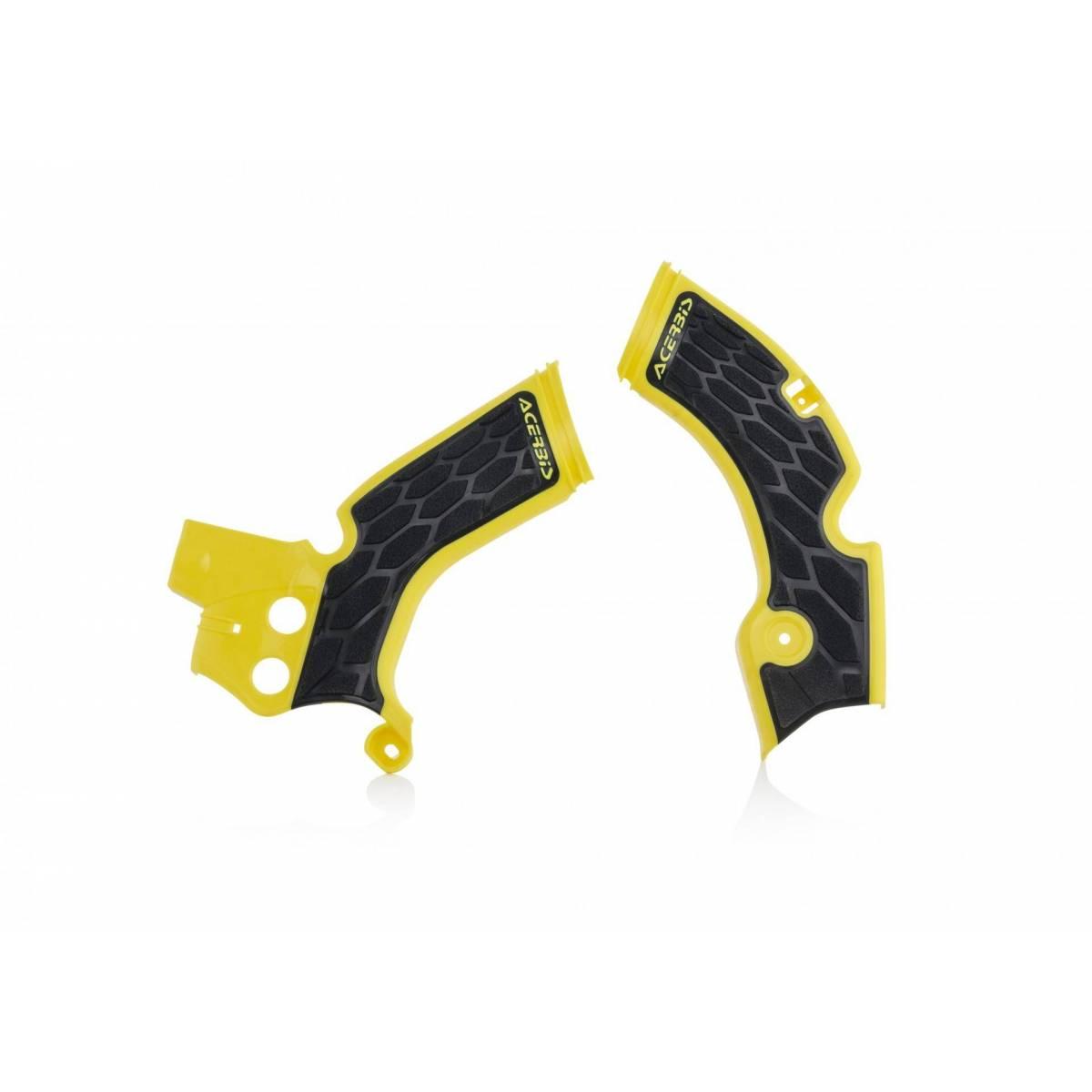 0022879-279 - Cubre Chasis Acerbis Rmz 250 15 17 Amarillo Negro