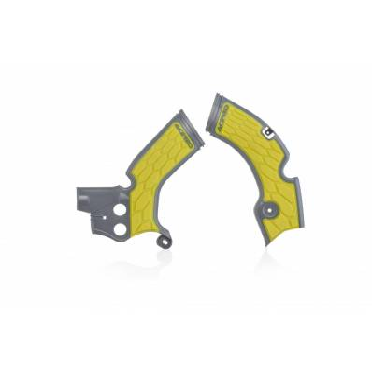 0022879-290 - Cubre Chasis Acerbis Rmz 250 15 17 Gris Amarillo