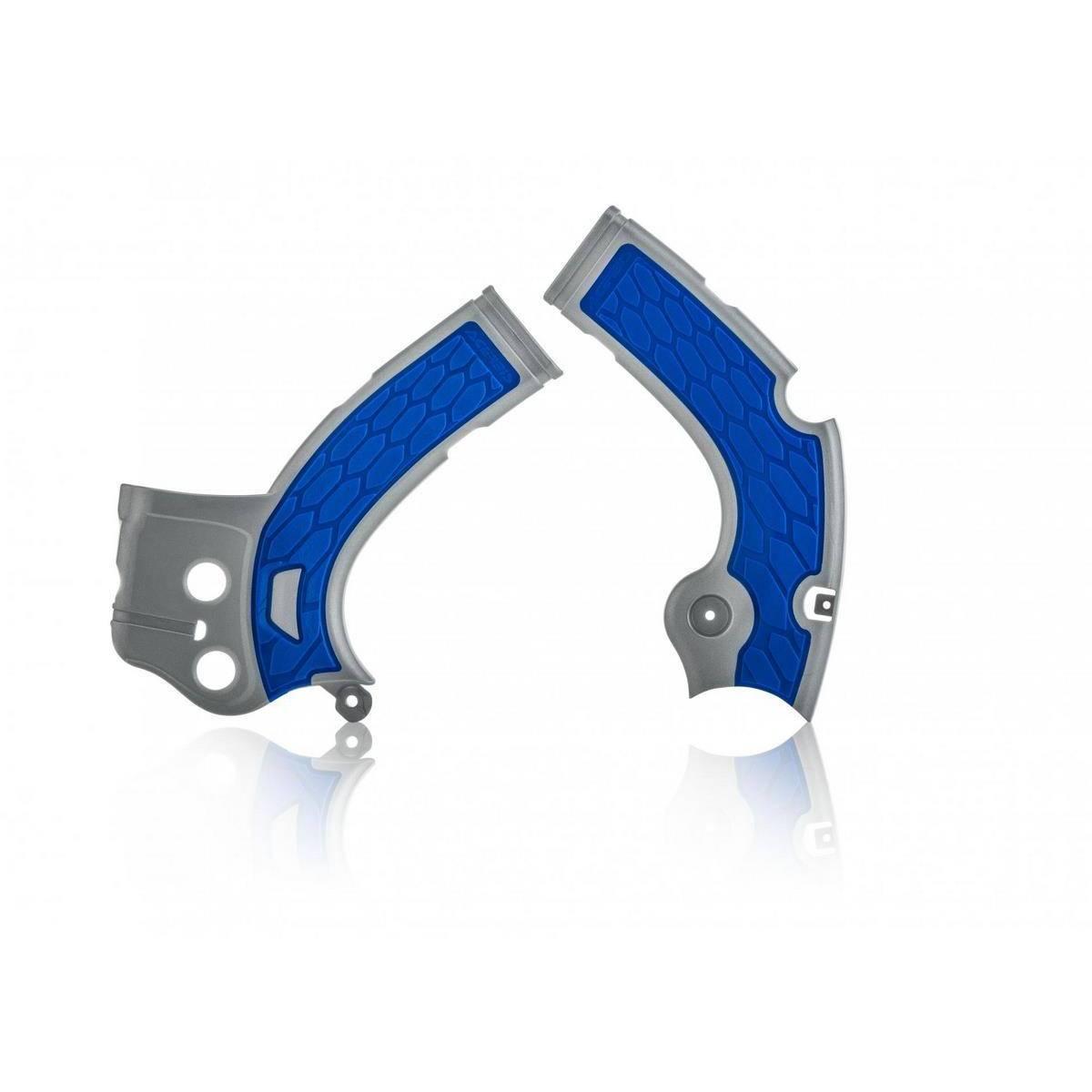 0022444-218 - Cubre Chasis Acerbis Yzf 250 17 18 Plata Azul